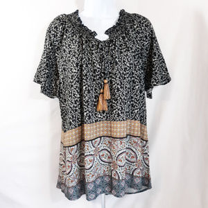 Knox Rose Short Sleeve Top Women's New with tags